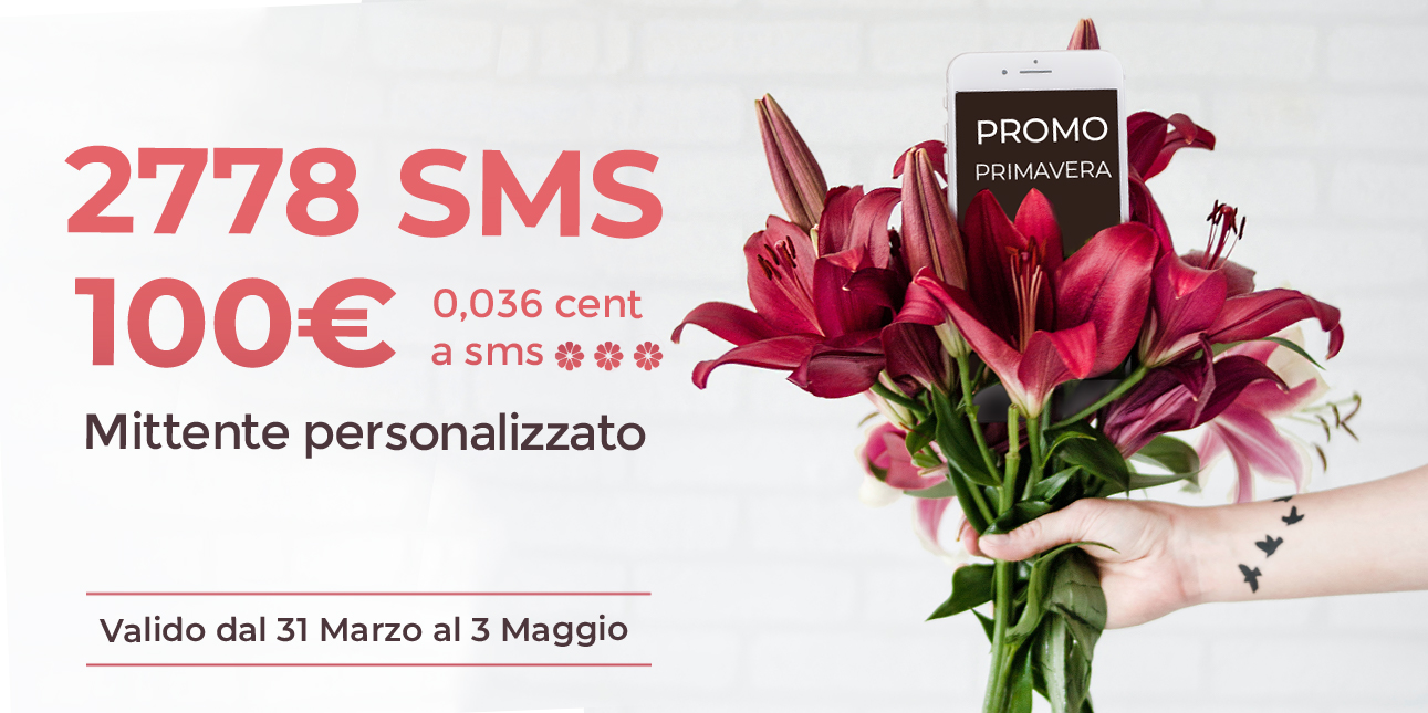 smSend - offerta primavera