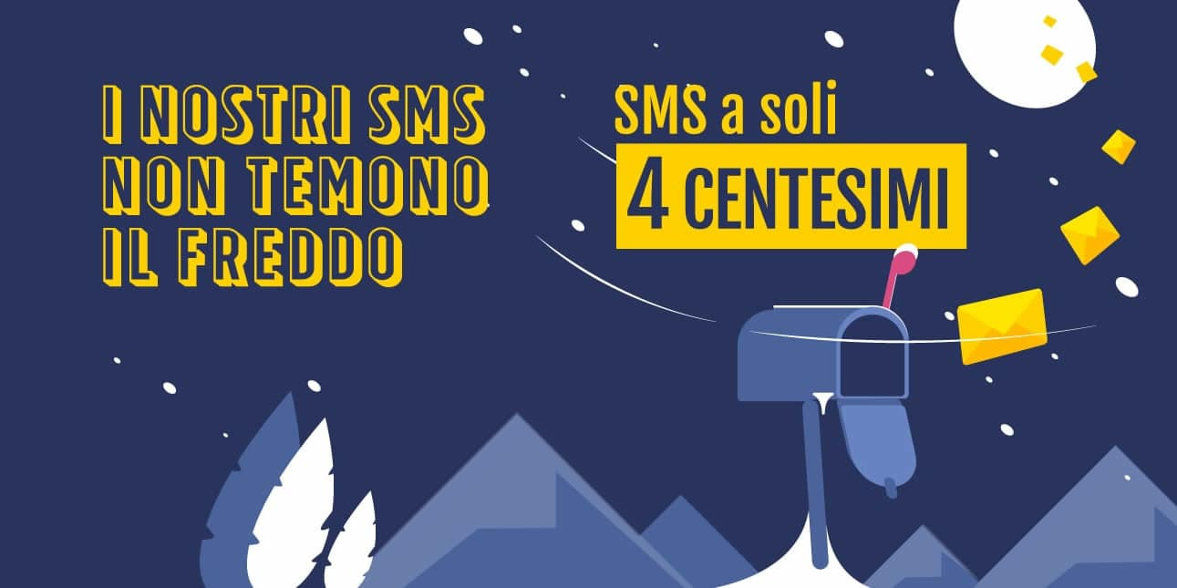 SMS a soli 0,04 centesimi